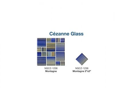 Cezanne Glass Tile Options | Paradise Pools