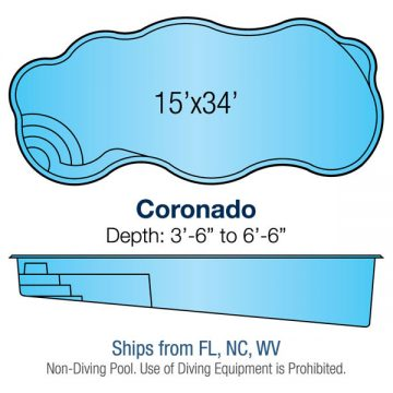 Freeform Pool Design - Coronado | Paradise Pools