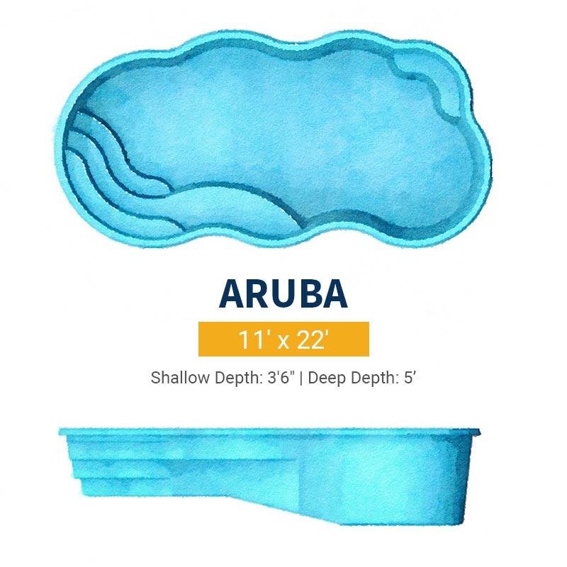 Freeform Pool Design - Aruba | Paradise Pools
