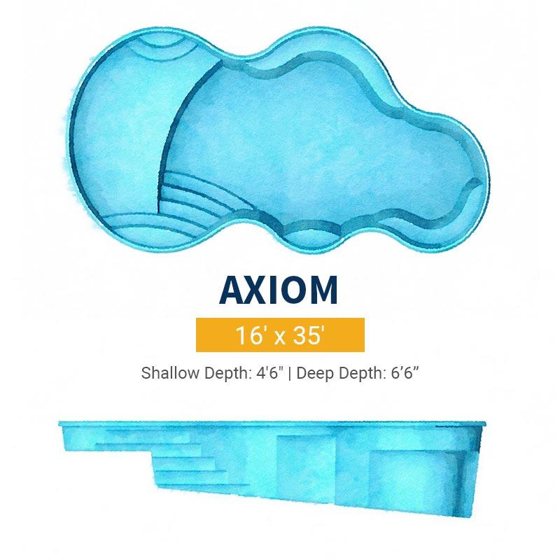 Freeform Pool Design - Axiom | Paradise Pools