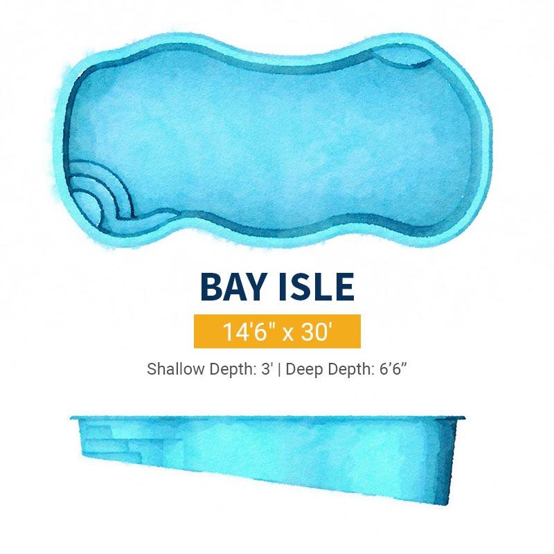 Freeform Pool Design - Bay Isle | Paradise Pools