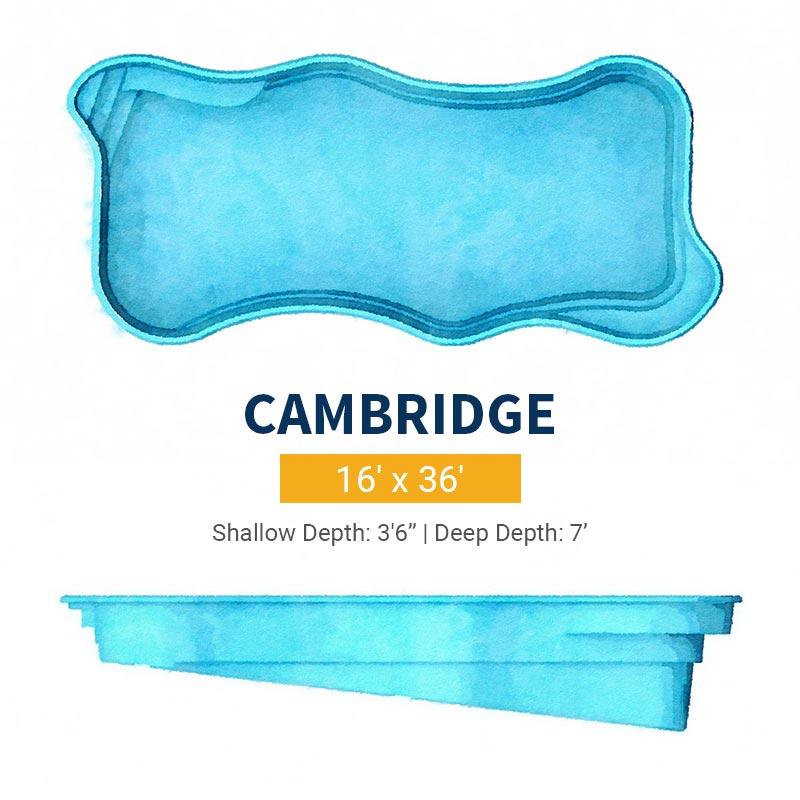 Freeform Pool Design - Cambridge | Paradise Pools