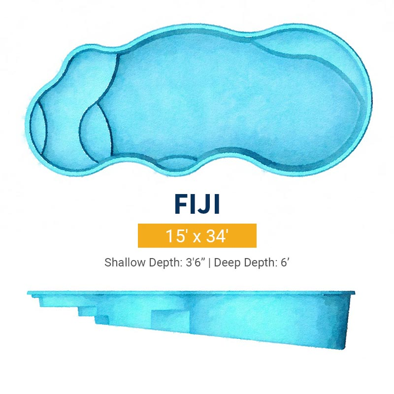 Freeform Pool Design - Fiji | Paradise Pools