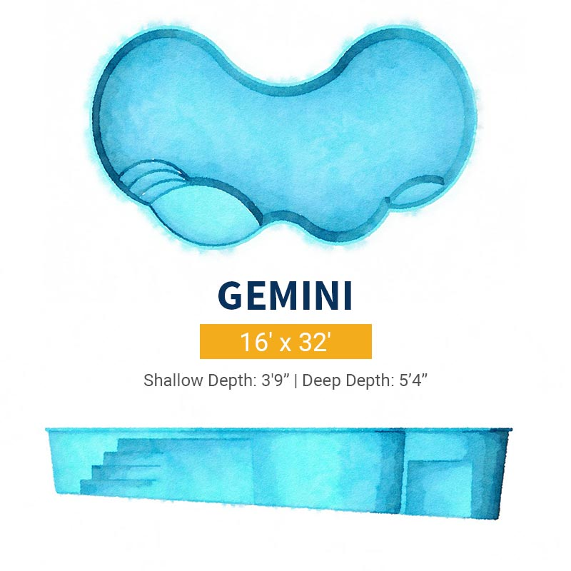 Freeform Pool Design - Gemini | Paradise Pools