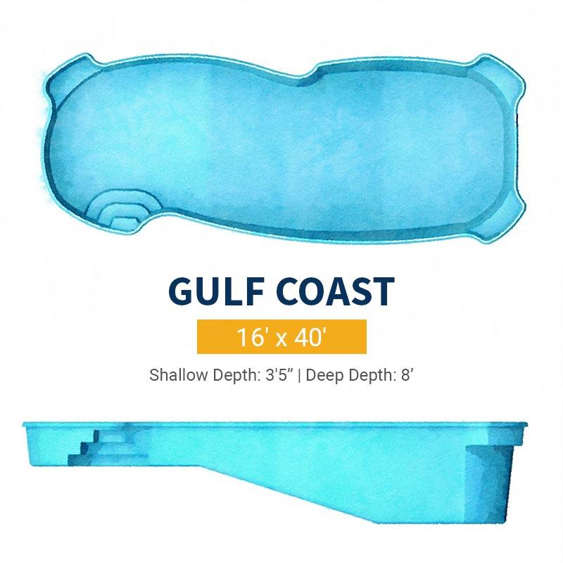 Freeform Pool Design - Gulf Coast | Paradise Pools