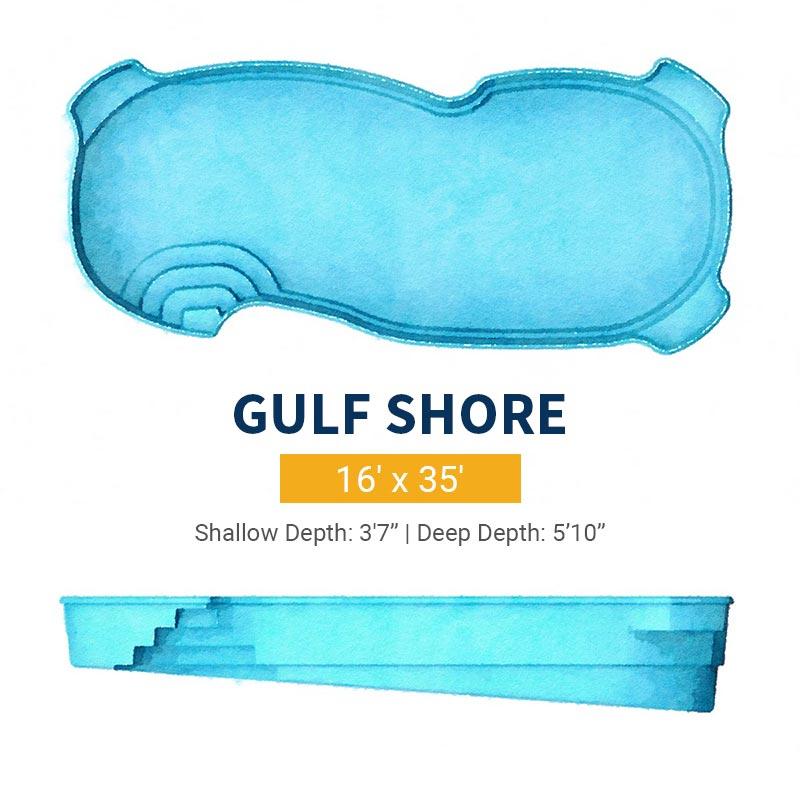Freeform Pool Design - Gulf Shore | Paradise Pools