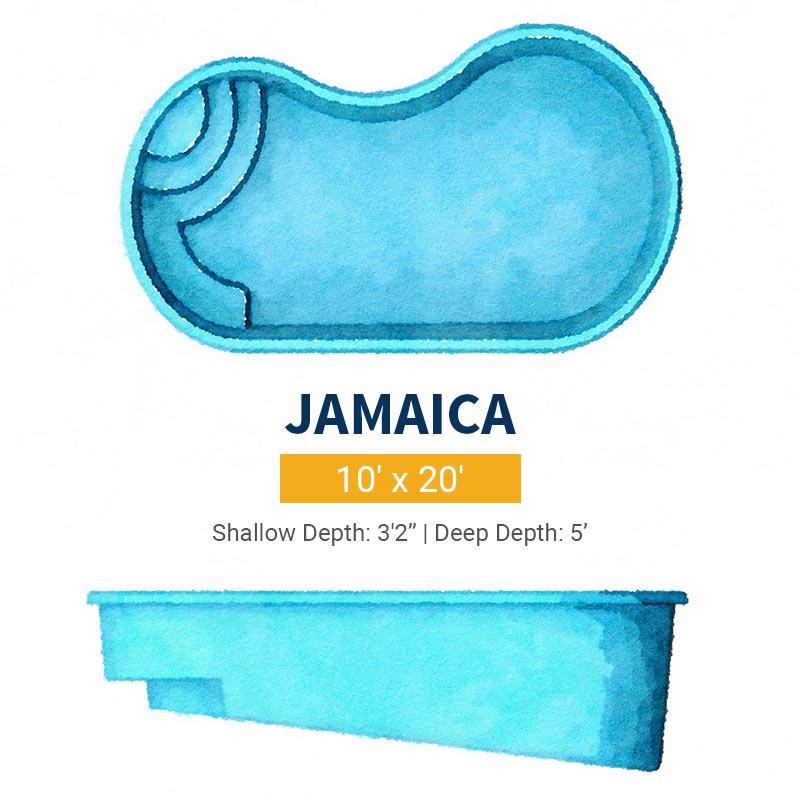 Freeform Pool Design - Jamaica | Paradise Pools