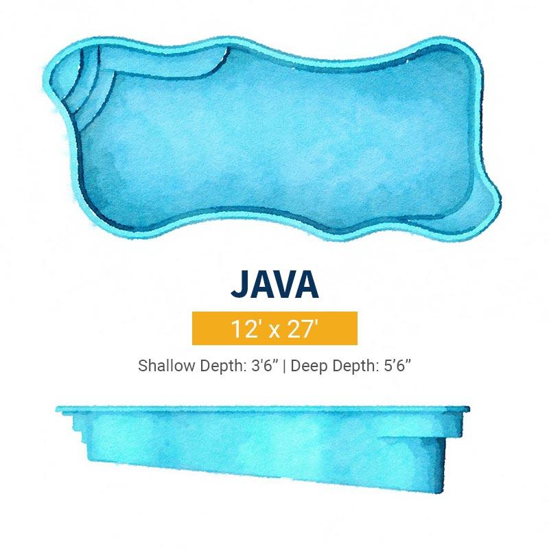 Freeform Pool Design - Java | Paradise Pools