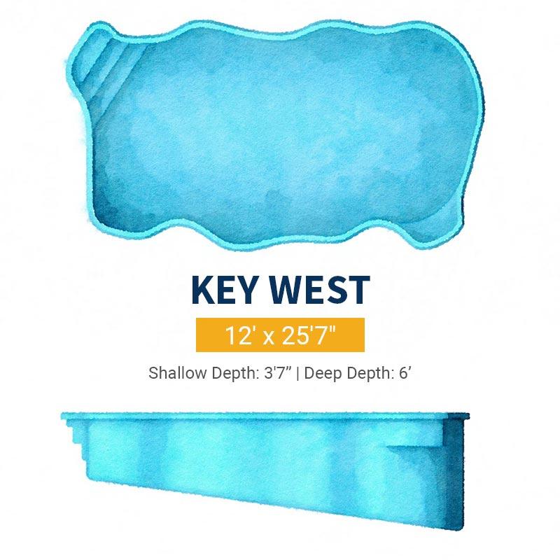 Freeform Pool Design - Key West | Paradise Pools