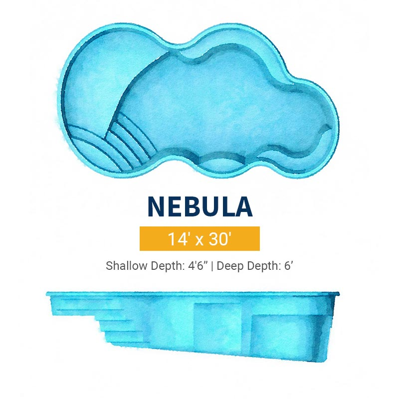 Freeform Pool Design - Nebula | Paradise Pools