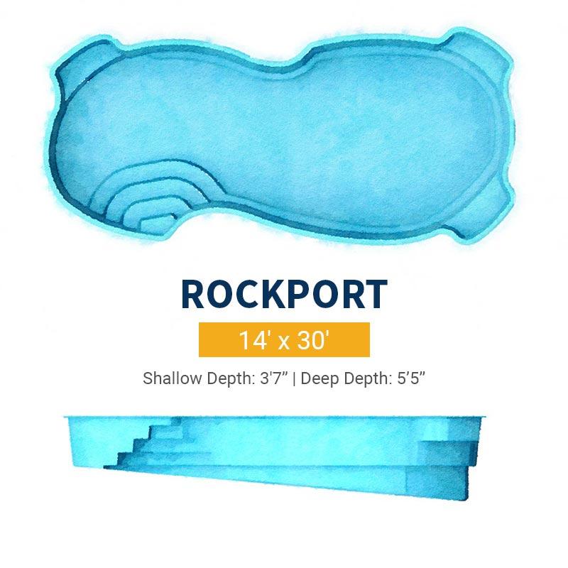 Freeform Pool Design - Rockport | Paradise Pools