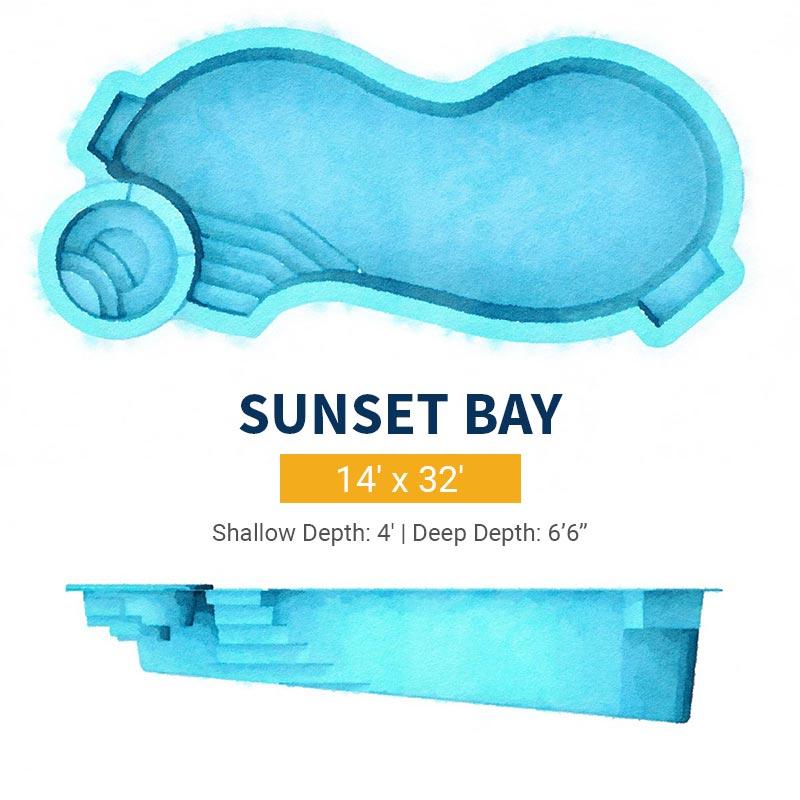 Freeform Pool Design - Sunset Bay | Paradise Pools