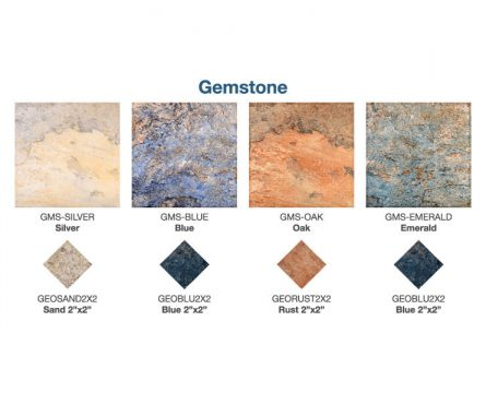 Gemstone Tile Options | Paradise Pools