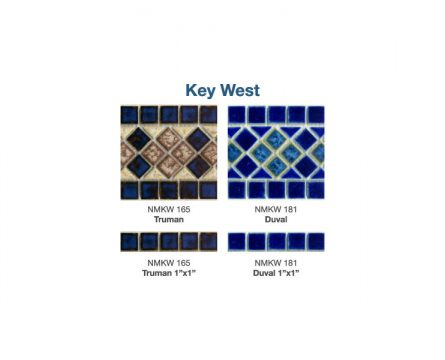 Key West Tile Options | Paradise Pools
