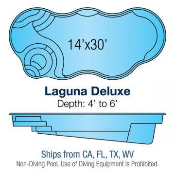Modern Freeform Pool Design - Laguna Deluxe | Paradise Pools
