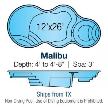 Modern Freeform Pool Design - Malibu | Paradise Pools