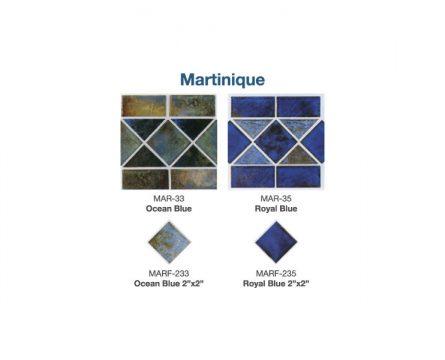 Martinique Tile Options | Paradise Pools