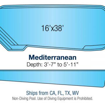 Custom Pool Design - Mediterranean | Paradise Pools