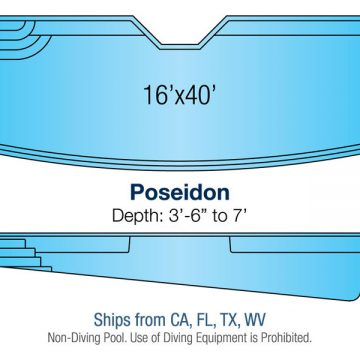 Custom Pool Design - Poseidon | Paradise Pools