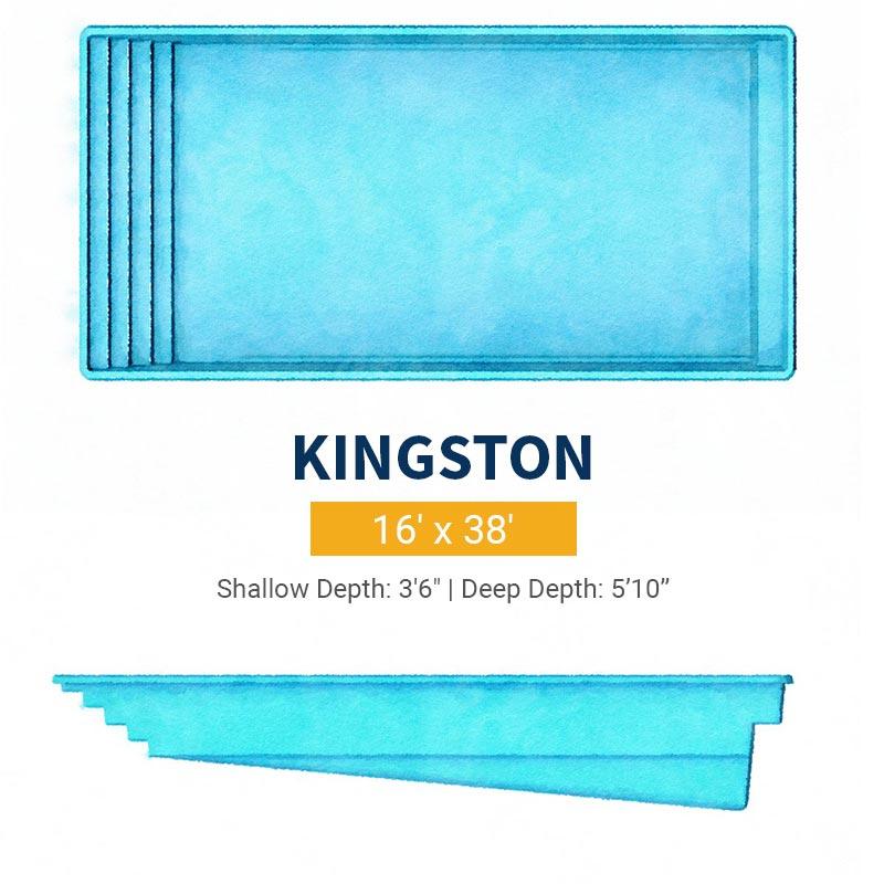 Rectangle Pool Design - Kingston | Paradise Pools