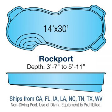 Freeform Pool Design - Rockport | Paradise Pools