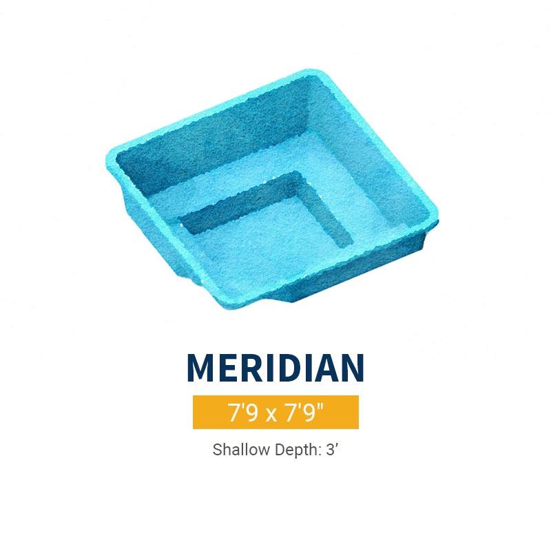 Spa Pool Design - Meridian | Paradise Pools