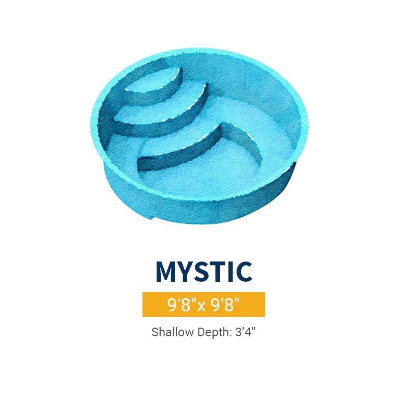 Spa Pool Design - Mystic | Paradise Pools
