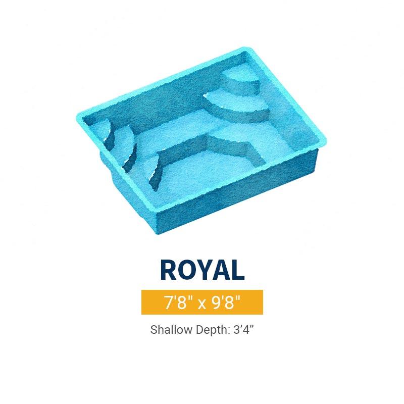 Spa Pool Design - Royal | Paradise Pools