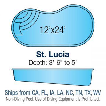 Kidney Pool Design - St. Lucia | Paradise Pools