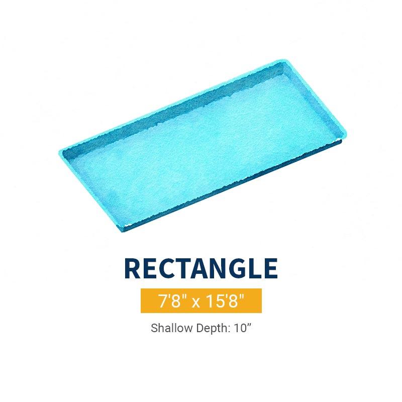 Tanning Ledge Pool Design - Rectangle | Paradise Pools