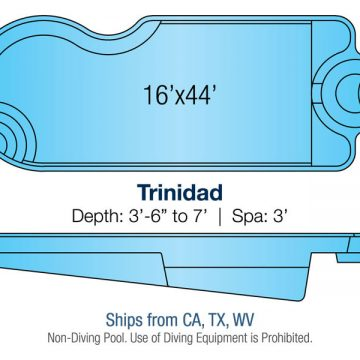 Custom Pool Design - Trinidad | Paradise Pools