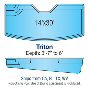 Custom Pool Design - Triton | Paradise Pools